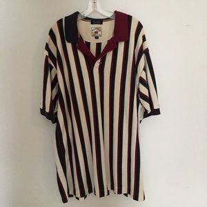 Cutter & Buck Striped Polo Shirt